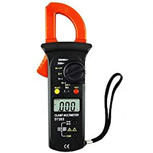 Volmate Auto Ranging Auto-off Digital Clamp Multimeter Voltmeter Ammeter Ohmmeter, AC Current Tester
