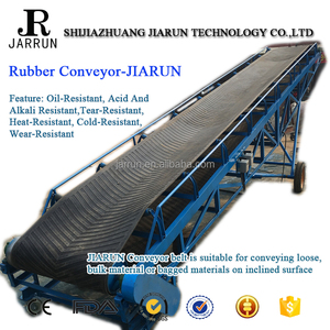 Hot China Products Wholesale High Quality Nn/Ep Rubber Belt Conveyor