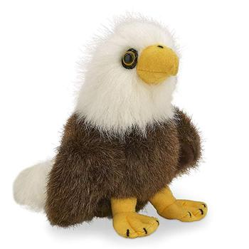 Real Baby Eagle Plush Animal Stuffed Bald Eagle Toys for Sale