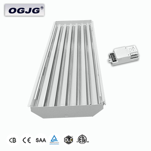 80W 120W 160W 200W 300W Supermarket linkable hanging Linear lamp 22000 18000 Lumen shopping mall dimmable Led High Bay Light