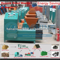 Energy-saving professional wood sawdust log making machine with CE certification