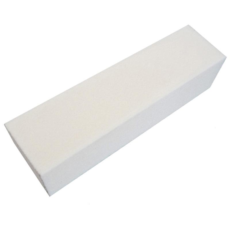 Free Shipping 10Pcs Files For Manicure Sticks White Buffing Sanding Acrylic Pedicure Nail Buffer Block