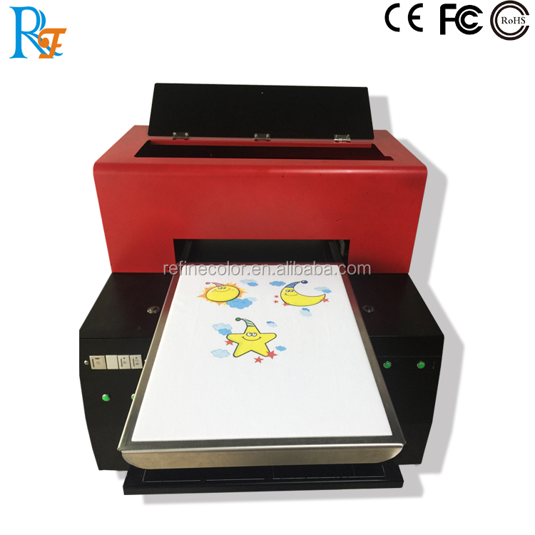 Refinecolor A3 dtg t-shirt printer, Cheap A3 direct to garment printer Factory