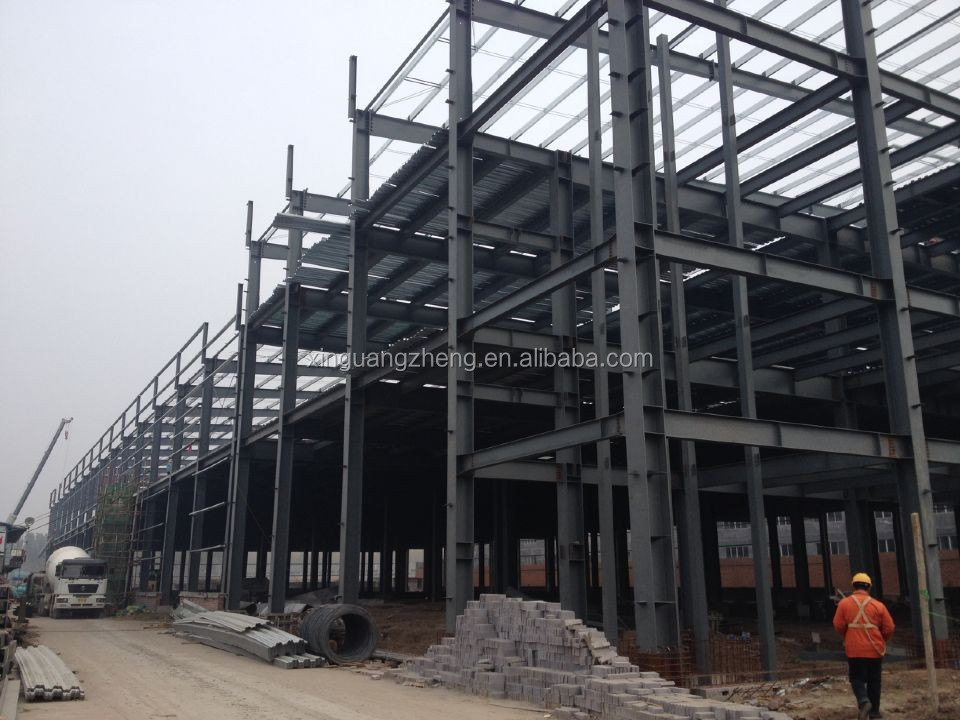 Prefabricated steel frame prefab small warehouse