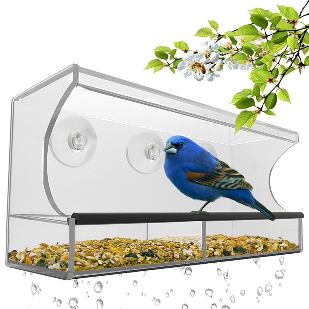 Wholesales creative customized acrylic bird feeder