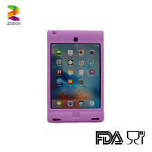 Tablet case Cover For apple iPad Mini 4 7.9'' Case Silicone Stand Protect Cover