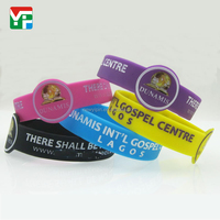 custom your own silicone wristbands hand bands round shape/watch shape silicone bangle bracelet