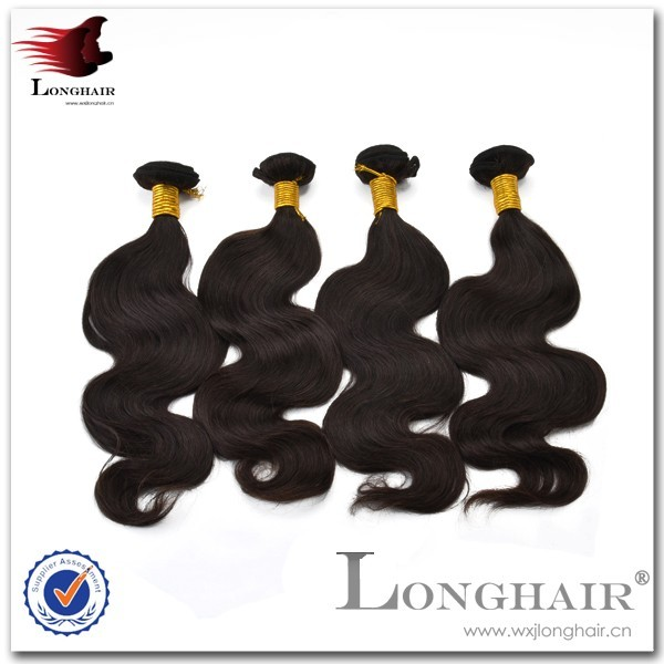 The New Products 2016 Body Wave Indian Human Hair Extensions Wholesale