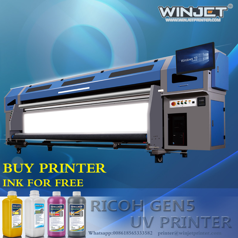 machine manufacturers widly used big size ricoh sublimation printerfocus uv printer