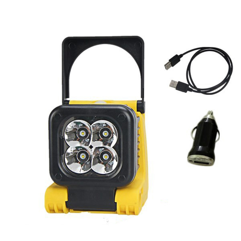 camping equipment led 12v camping light rechargeable led light with handheld