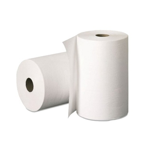 Hand towel paper 800ft white and kraft roll