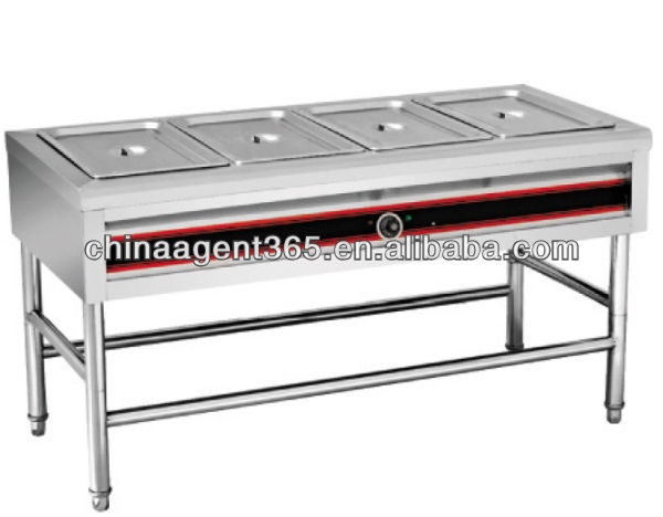 Assembled electric buffet bain marie