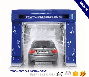 Dericen DWX-4 car wash machine touchless with foam,wax system,dryer is optional