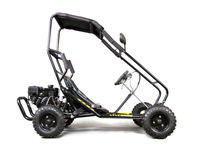 196cc 4 stroke 6.5HP 6inch racing off road go karts for sale Hydraulic disc brake centrifugal dry E-MARK approval