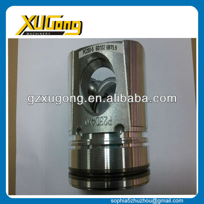 PC200-6 6D102 6BT small electric piston