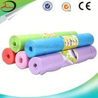 best quality pvc ygoa mat manufacturing company pvc eco-friendly elastic non-slip yoga mat 1 piece free