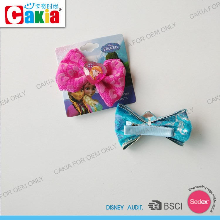 China Supplier Kids Provate Label Cheer Bows Alligator Clips Hair ...