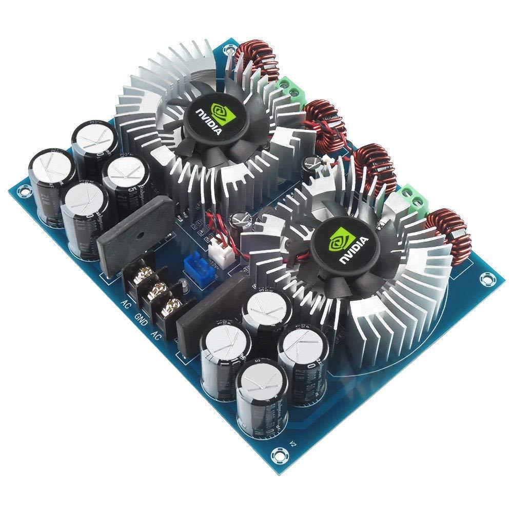 FidgetFidget Amplifier 420W x2 Large Power TDA8954TH AD Digital Audio Board Dual AC 24V