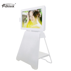 New products 42inch ipad floor stand LCD touch screen kiosk