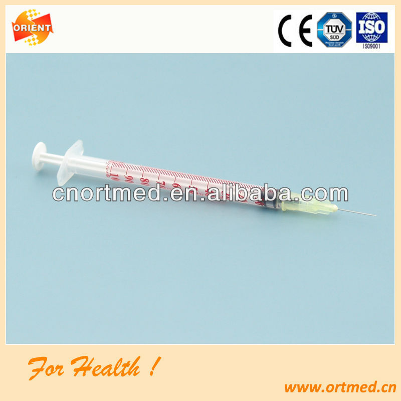 blister or poly bag low price white color Insulin Syringe
