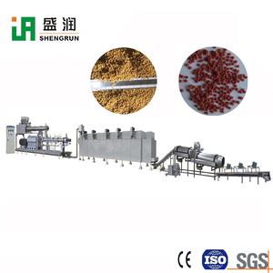 Hot Selling Extruded Floating Fish Pellet Food Making Machine Feed Granule Making Machine For Fish