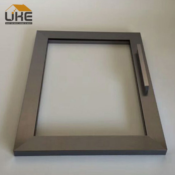 Italian Style Aluminum Frame Glass Door Profile Aluminium Kitchen Cabinet Door  Frame Profile