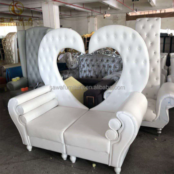 Brilliant White Heart Shape King And Queen Loveseat Throne Chair Buy White King And Queen Throne Chair Heart Shape King And Queen Throne Chair White Heart Dailytribune Chair Design For Home Dailytribuneorg