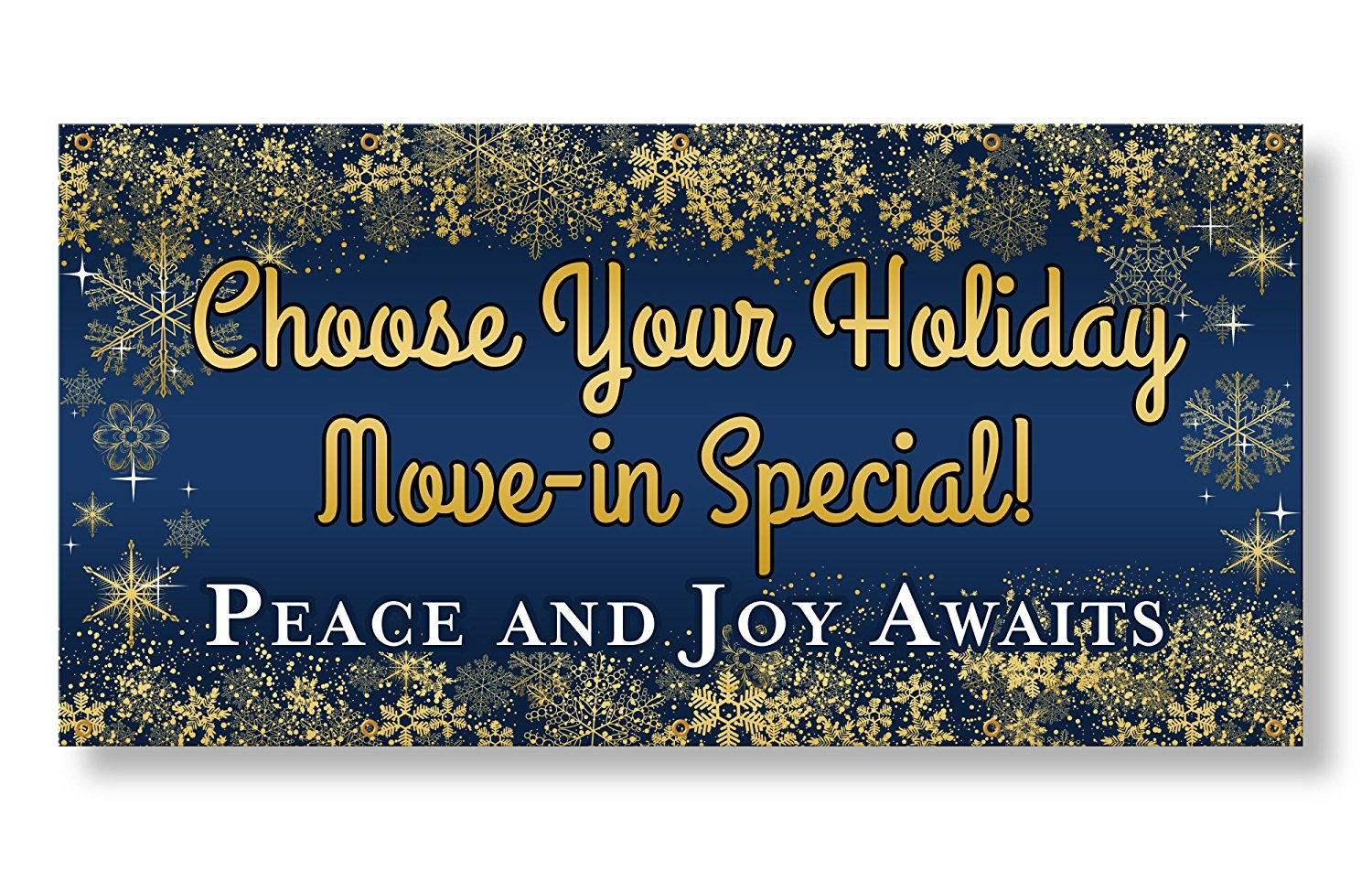 Apartment Banner - Choose Your Holiday Move-In Special (4'x8')