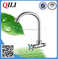QILI KF-4001plastic wall mount faucet with sprayer