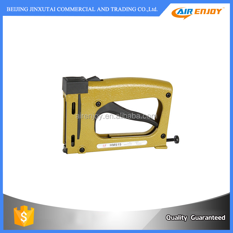 High Quality manual Nailer Gun Flexible Points Tools HM515 for photo frame For Flexible Points