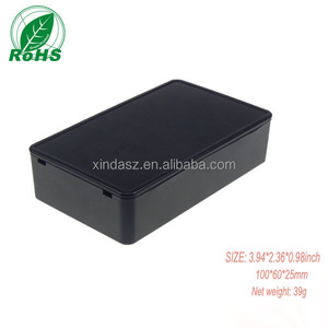 Customizable electronics enclosures for pcb 100*60*25mm plastic housing for PCB abs plastic enclosure plastic case