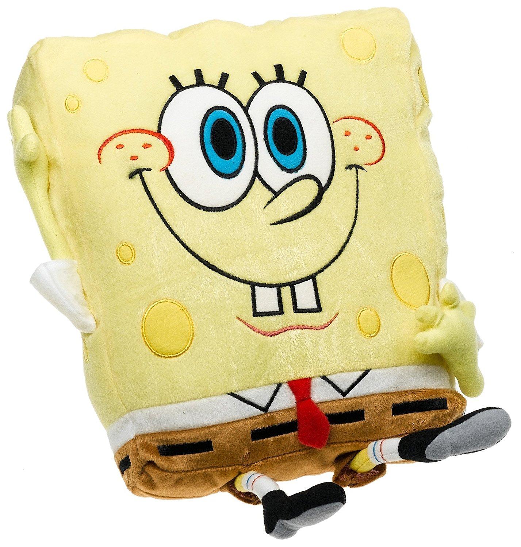 Sponge Bob Waving Sponge Plush Pillow