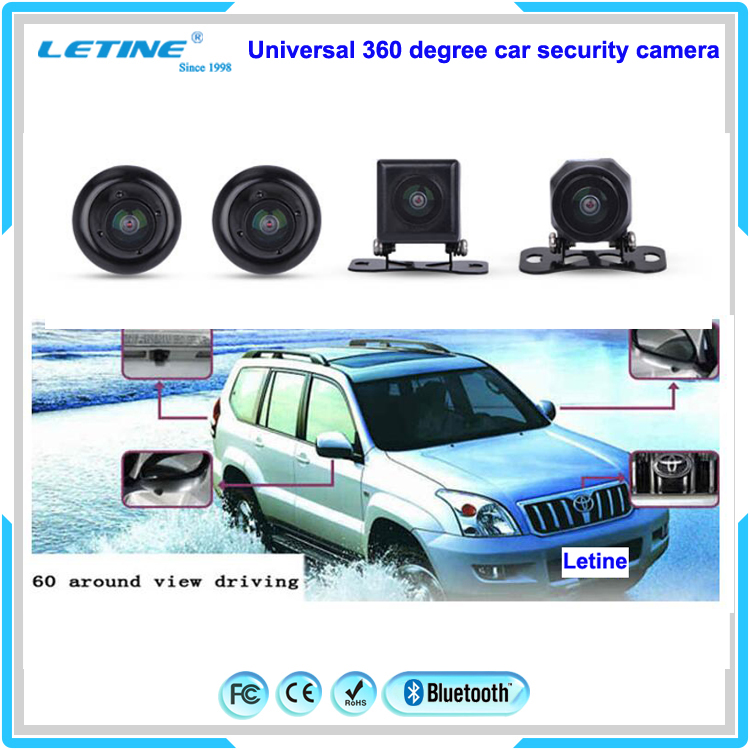 Manufacture Full HD GPS user manual fhd 1080p car camera DVR with Four cameras