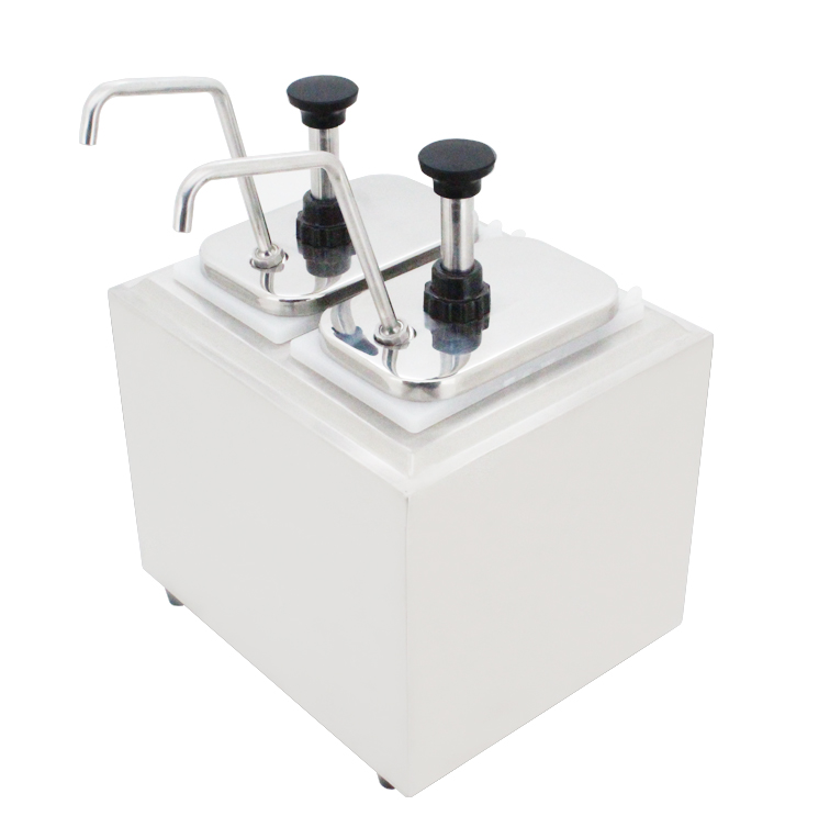Deutstandard double head cheese/chocolate sauce dispenser NP-315
