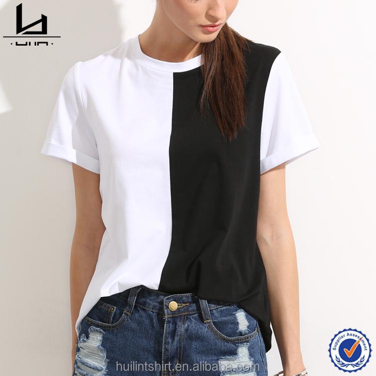 Colorblock Sleeves Blank T Shirts, Colorblock Sleeves Blank T Shirts  Suppliers and Manufacturers at Alibaba.com
