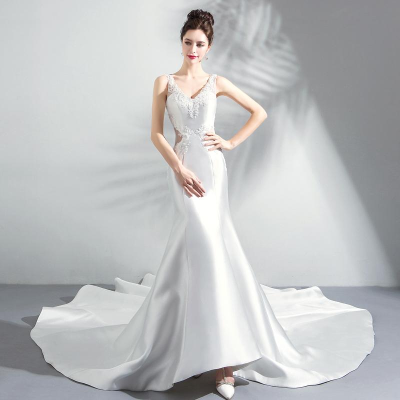812dbcb52ff7c مصادر شركات تصنيع الرباط العميق الخامس الرقبة ثوب الزفاف حورية البحر  والرباط العميق الخامس الرقبة ثوب الزفاف حورية البحر في Alibaba.com