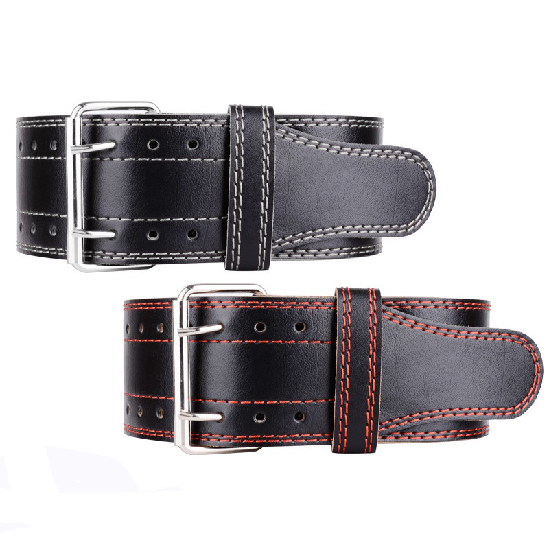 (High) 저 (quality gym 피트니스 힘 workout weight lifting belt 공장 customized 소 leather Weight Lifting Belt