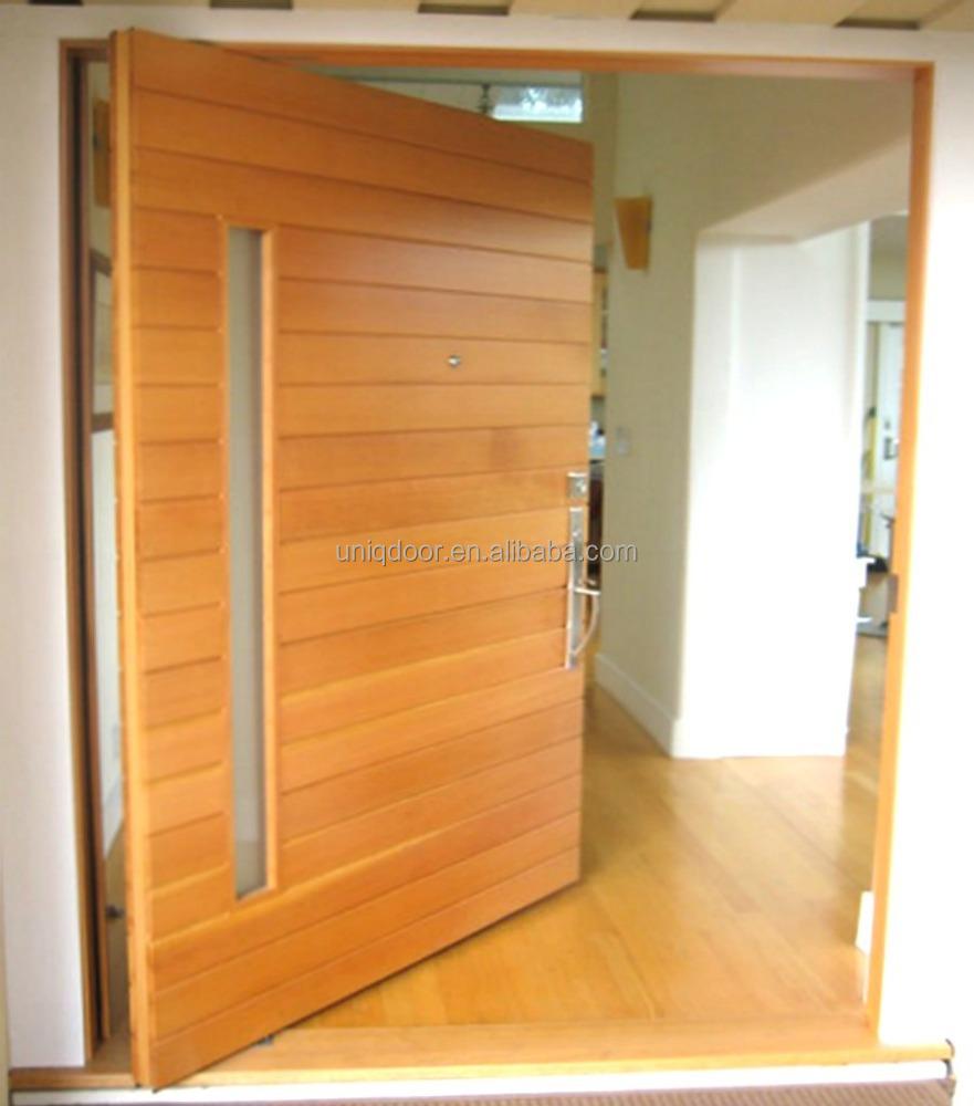 Exterior Solid Wood Pivot Door Design Buy Front Doorwooden