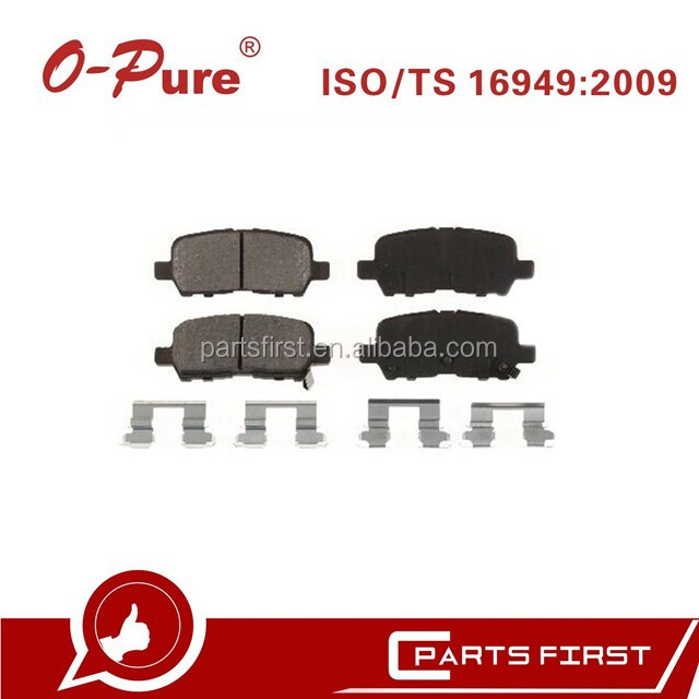 Ceramic Auto Disc Brake Pads FMSI D999 China Factory for Buick Allure Chevrolet Impala
