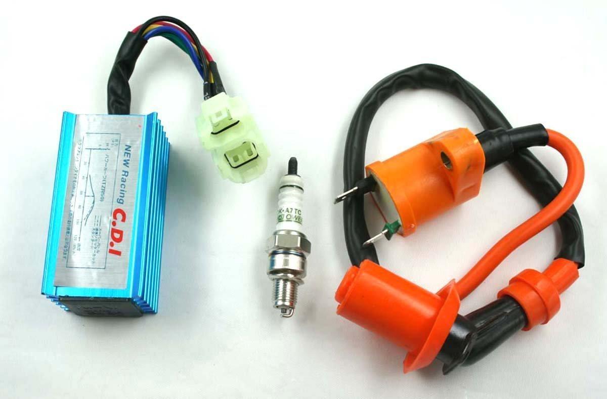 Buy High Performance Racing Ignition Coil Spark Plug A7tc Cdi Gy6 50cc Atv Wiring 125cc 150cc For 4