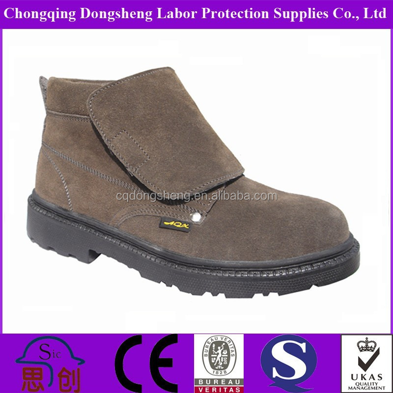 S3 Durable Anti-slipping Qualified Welding Safety Shoes