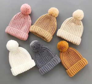 99f17e86 Baby Knit Pom Pom Hat, Baby Knit Pom Pom Hat Suppliers and Manufacturers at  Alibaba.com