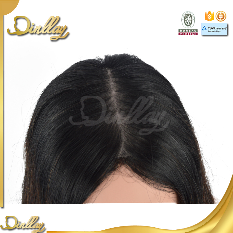 Dingli Hair prompt delivery european human hair jewish wig