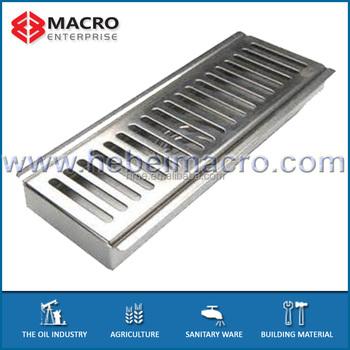 Stainless Steel Br Rectangular Floor