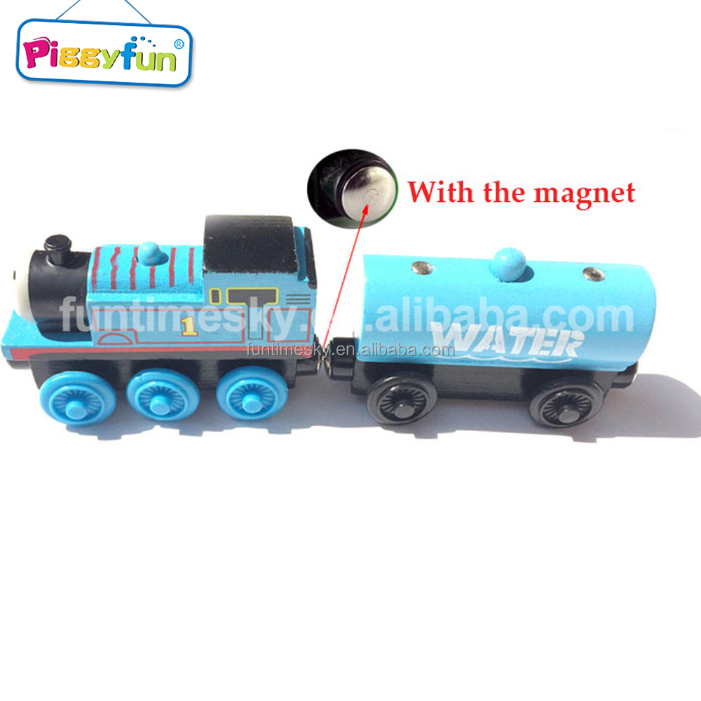 Alta calidad de encargo de madera de color thomas trenes juguetes ...