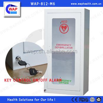 Handel Zekerheid Wap Aed Muur Kast Met Alarm Medische Eerste Hulp In Het Ziekenhuis Kast Buy Aed Kastmedisch Instrument Kastmedicijnkast Product