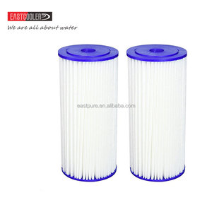 PPFZ-10BB-E01 Eastcooler 30 Micron 10 x 4.5 Pleated Polyester Sediment Comparable Replacement Water Filter
