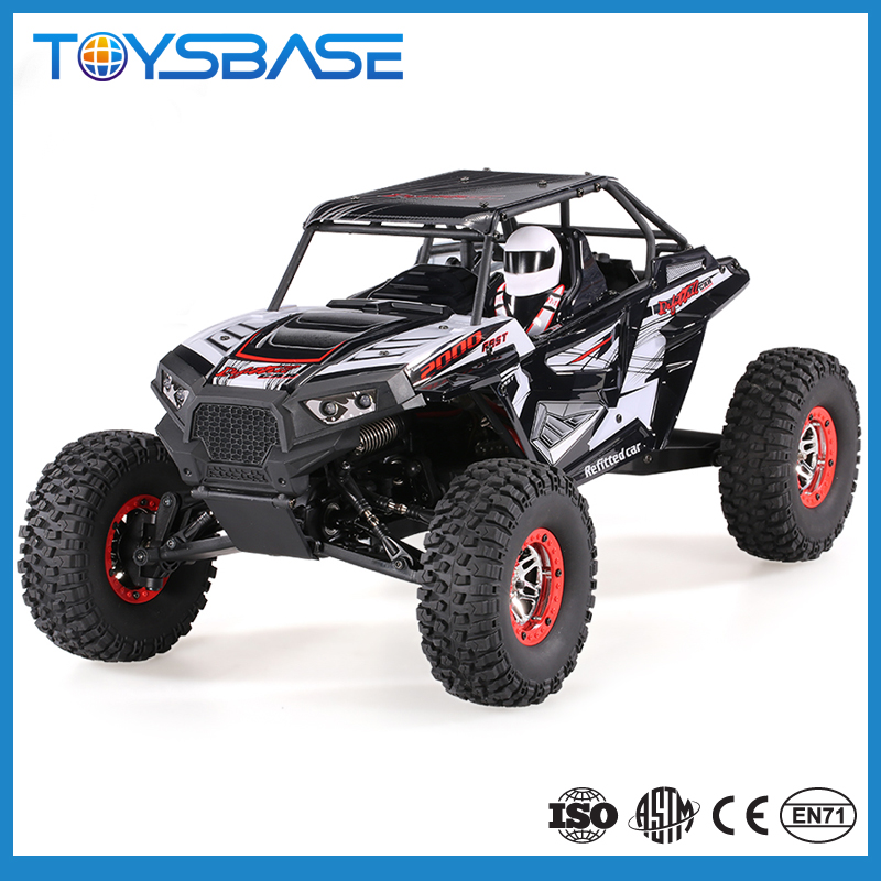 1/10 Scale 4x4 RC Truck - 2017 New Product Electric Four-Wheel Drive 4WD Rock Climbing Car 1/10 Rc Truck