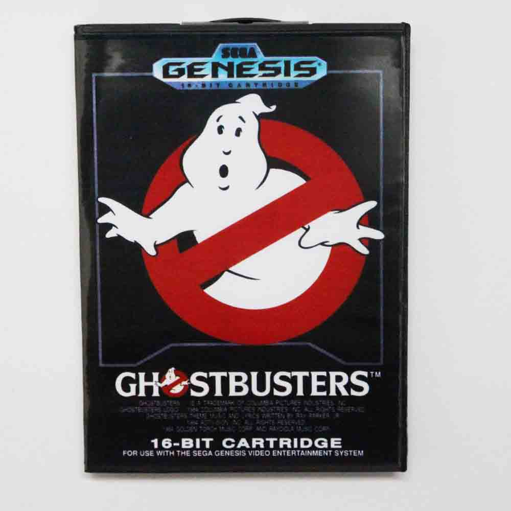 c266c82b612 Ghostbusters Game Cartridge 16 bit MD Game Card With Retail Box For Sega  Mega Drive For