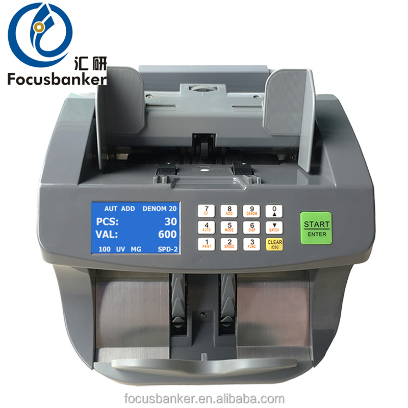 FB-50X series Money Counting Machine Bank Note Counter Currency Cash Value Currency Counter